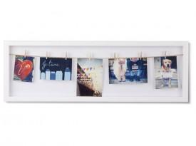 Dekoracyjna ramka na kilka zdjęć Clothesline Flip
