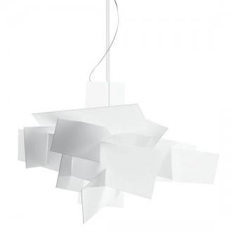 Lampa wisząca z kloszem z tworzywa sztucznego Bang Bang 65