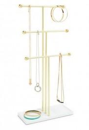 Trzypoziomowy stojak na biżuterię Trigem