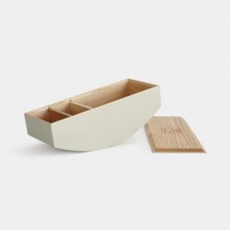 Drewniany organizer z przegródkami Balance