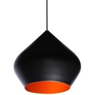Lampa wisząca z kloszem z aluminium Bet Shade Stout