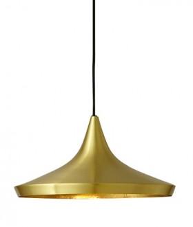Złota lampa wisząca Bet Shade Wide
