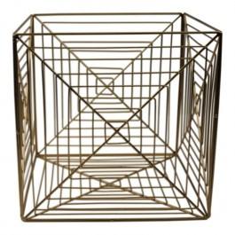 Geometryczny organizer z metalu Maze