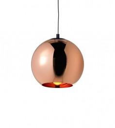 Lampa sufitowa ze szklanym kloszem Bolla Up Rose Gold 30