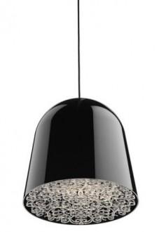 Lampa sufitowa z kloszem z aluminium Cancun