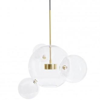 Lampa wisząca z okrągłymi kloszami Capri 4