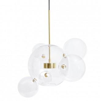 Lampa wisząca z okrągłymi kloszami Capri 6