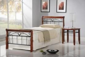 Łóżko na metalowej ramie Veronica 90