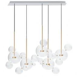 Lampa wisząca ze szklanymi kloszami Capri Line 5