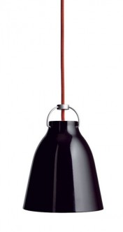 Lampa sufitowa z kloszem w kształcie grzybka Cloche 25