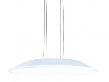 Lampa sufitowa z kloszem z akrylu Delgado