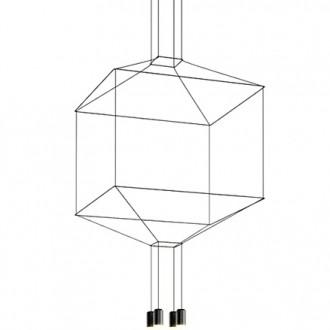 Geometryczna lampa wisząca Flusso 4