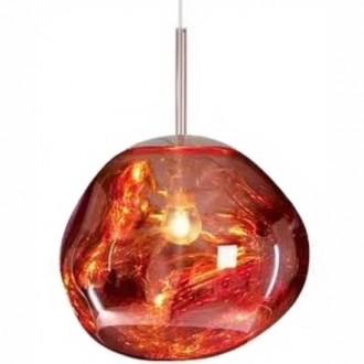 Designerska lampa wisząca ze szklanym kloszem Fusion 30