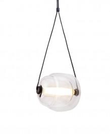 Lampa sufitowa z podwójnym szklanym kloszem Gander