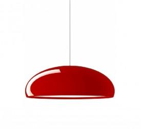 Lampa sufitowa z połyskującym kloszem Glow