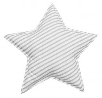 Dekoracyjna poduszka dziecięca Swan'derful w paski