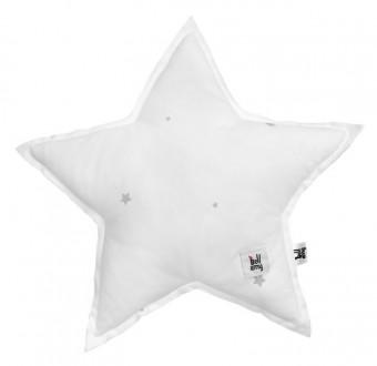 Dekoracyjna poduszka dziecięca Shining Star w gwiazdki