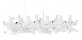 Lampa wisząca ze stali węglowej Glow Loong 205
