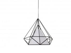 Designerska lampa wisząca z podwójnym kloszem Ornament 50