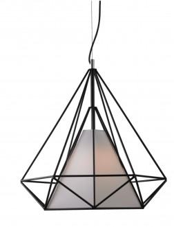 Designerska lampa wisząca z podwójnym kloszem Ornament 68