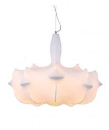 Lampa sufitowa z kloszem z materiału Ragnatela 60