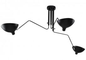 Lampa wisząca z kloszami z aluminium Raven 3