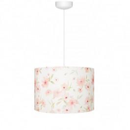 Lampa wisząca z bawełnianym kloszem Blossom