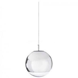 Lampa wisząca z okrągłym kloszem ze szkła Reflex Up 15