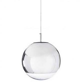 Lampa wisząca z okrągłym kloszem ze szkła Reflex Up 30