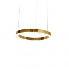 Lampa wisząca ze stali nierdzewnej Ring 40