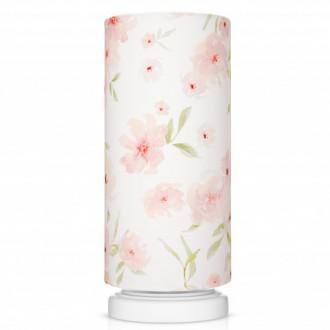 Lampka nocna z bawełnianym kloszem Blossom