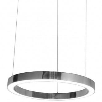 Lampa wisząca ze stali nierdzewnej Ring 80