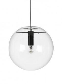 Lampa sufitowa z okrągłym kloszem ze szkła Sandra 30