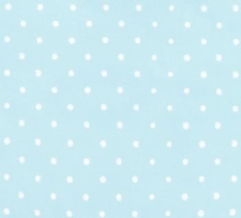 Bawełniane prześcieradło dziecięce z gumką Lovely Dots