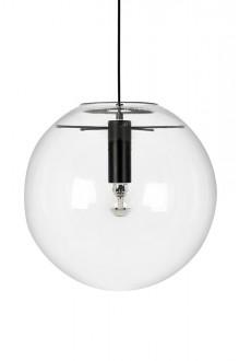 Lampa sufitowa z okrągłym kloszem ze szkła Sandra 35