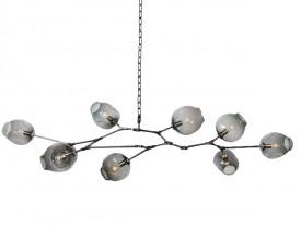 Lampa wisząca ze szklanymi kloszami Split-9