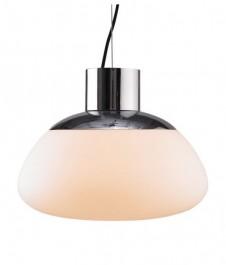 Lampa wisząca z kloszem ze szkła satynowego Vaso 42