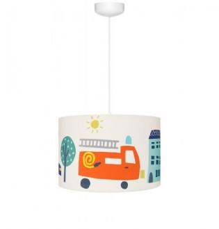 Wisząca lampa z motywem strażackim City Transport