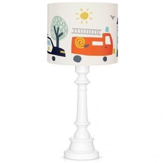 Dziecięca lampa stojąca z motywem strażackim City Transport