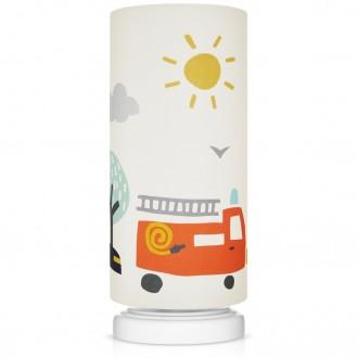 Lampka nocna z motywem strażackim City Transport