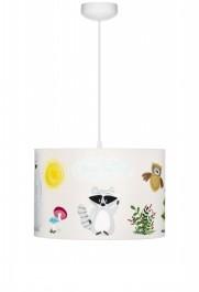 Dziecięca lampa sufitowa ze zwierzątkami Przyjaciele z Lasu