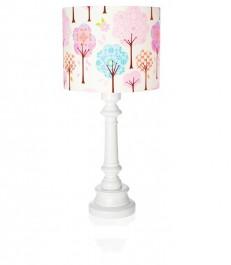 Dekoracyjna lampa z kolorowym kloszem Bajkowy Las