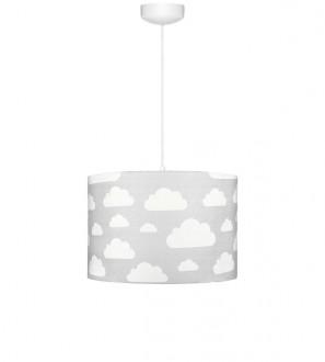 Lampa sufitowa do pokoju dziecięcego Chmurki