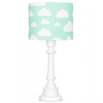 Kolorowa lampa stojąca do pokoju dziecka Chmurki