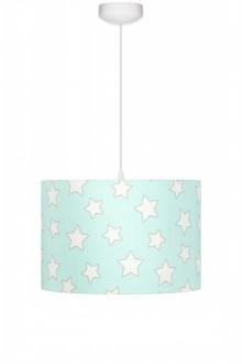 Kolorowa lampa sufitowa do pokoju dziecięcego Stars