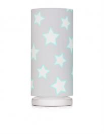 Lampka nocna z kolorowym kloszem do pokoju dziecka Stars