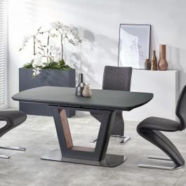 Rozkładany stół do jadalni Bilotti antracyt