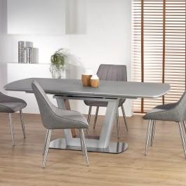 Rozkładany stół do jadalni Bilotti jasny popiel