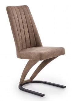 Tapicerowane krzesło do jadalni na jednej nodze K338
