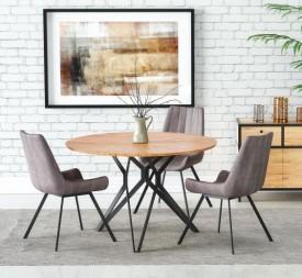 Okrągły stół do jadalni na nogach Pixel 2